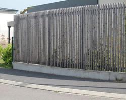 Scierie de Compertrix - Châlons-en-Champagne - Bardage et clôture en Mélèze